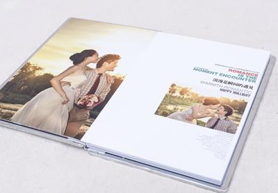 婚纱相册印刷