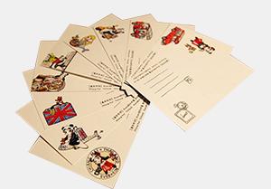 明信片印刷